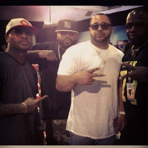 Hanging out with Slaughterhouse