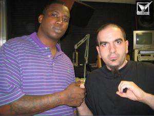 Waleed Coyote & Guccimane after an interview